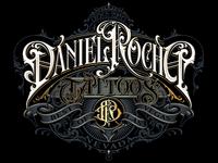 Daniel Rocha - vector monogram vector logotype typography lettering hand schmetzer