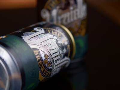 The Uraidla Brewery - can design packaging design can branding lettering schmetzer
