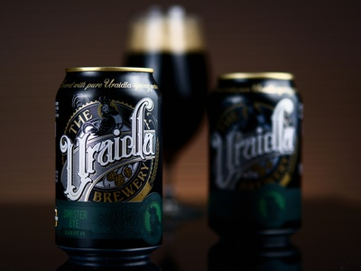 The Uraidla Brewery - can design 2 beer can design pckaging branding lettering schmetzer