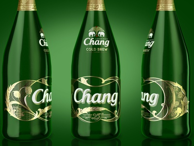 Chang design packaging beer chang filigree schmetzer