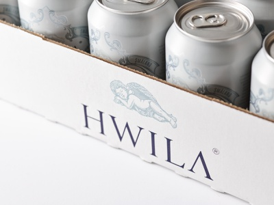 HWILA tray branding design packaging can hwila schmetzer