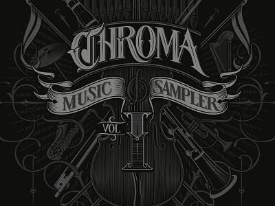 Chroma schmetzer chroma album cover vector