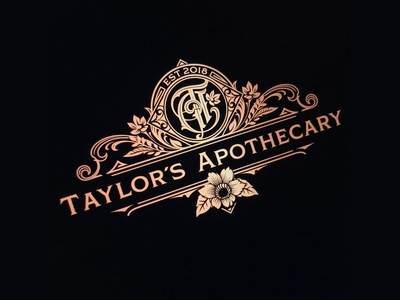 TA - heraldic crest logotype design monogram crest heraldic schmetzer
