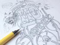 Leadville - Sketch