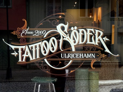 Tattoo Söder window schmetzer tattoo söder window signage