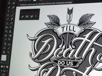 Till Death logotype part us do death till schmetzer