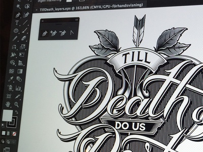 Till Death logotype part us do death till schmetzer