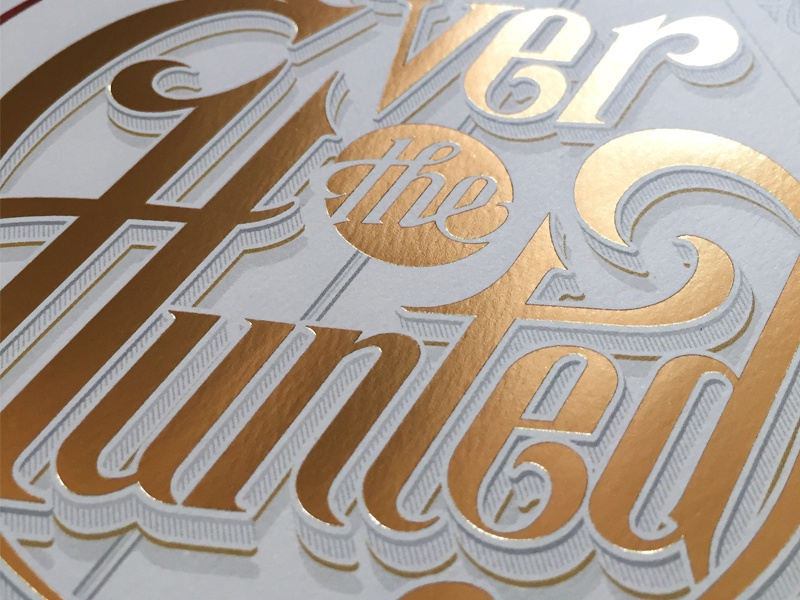 Ever the Hunted hunted the ever title lettering hand schmetzer