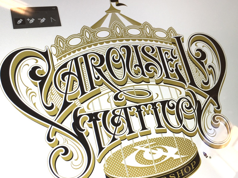 carousel tattoo by martin schmetzer dribbble. Black Bedroom Furniture Sets. Home Design Ideas