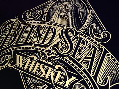 Blind Seal seal blind branding whiskey and branding whiskey lettering hand schmetzer