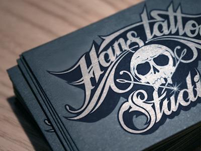 Hans Tattoo Studio By Martin Schmetzer On Dribbble