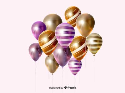 Glossy Ballons