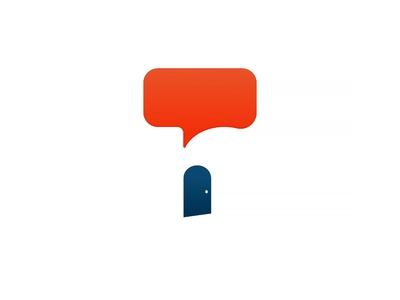 N Chat Logo design