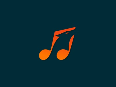Singing Fox Logo with negative SPACING