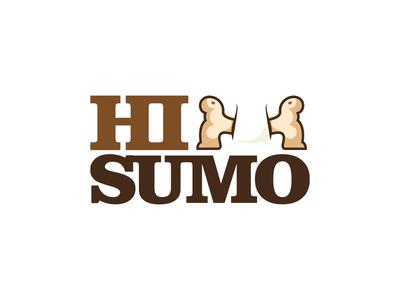 HI Sumo Logo with Negative Spacing