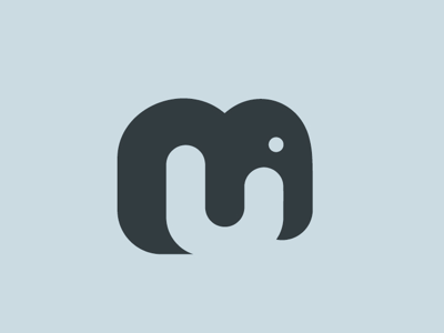 Negative Spacing and bold design logo