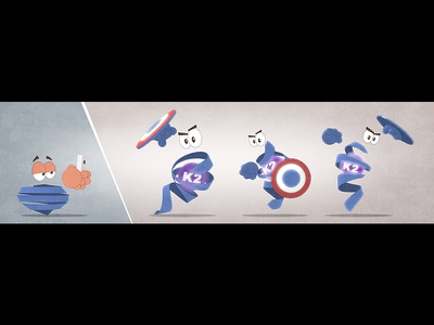MGP Character Design dietary supplement pharmaceutical animation scientific animation medical animation character design shield vitamin protein