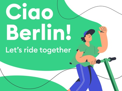 Ciao Berlin design character illustration ciao berlin