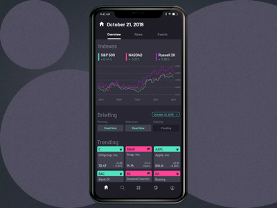 Mobile Banking Promo material aftereffects transition animation mobile banking mobile finance analytics dark theme dark mode dashboard bank app motion ux application
