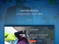 Enterprise Application Website - lead generation