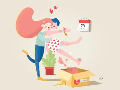My fluffy valentine