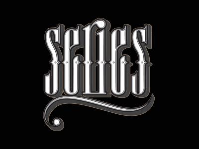 Series illustration design graphic typo typograhy