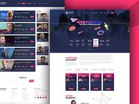 Webtures Academy Website