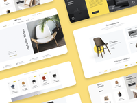 Ersa Furniture Redesign Website