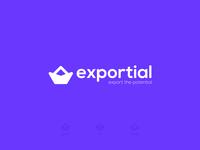 Exportial Logo Design