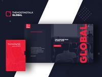 The Hosting Talk Global - Website Redesign Project