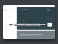 CARAN d'ACHE® - Website Design