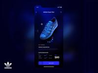 Adidas Shoes Ecommerce App UI Design