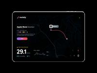 Routely App UI/UX & Logo Design