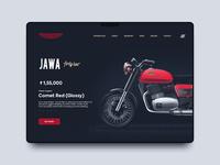 Jawa Motorcycle Redesign