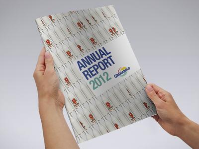 Granarolo | Annual Report 2012 print cmyk design graphic design yoghurt cheese a4 press annual report brochure milk granarolo