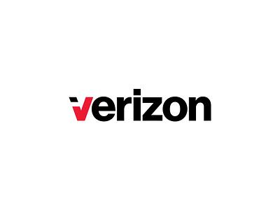 Verizon Rebranding / Me / Pentagram pentagram 2015 symbol mark letter new logo branding revised new logo verizon