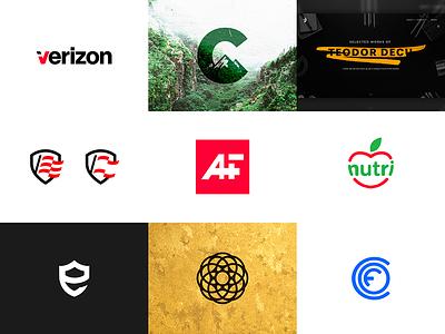 Best of 2015 symbol branding design illustration logo like dribbble shot top nine best