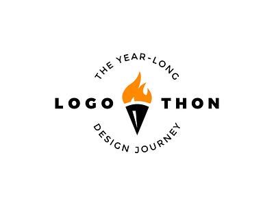 Logothon year journey symbol branding daily logo challenge design logothon
