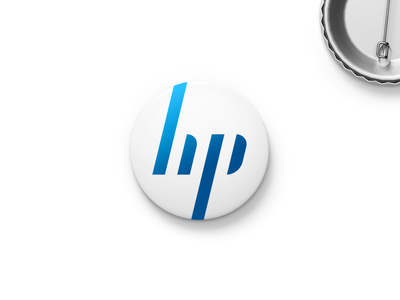 HP Rebranding symbol mark design logo branding rebranding hp