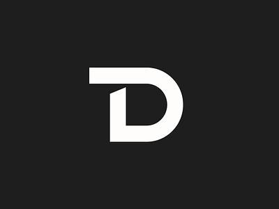 New Personal Logo! monogram initials td symbol mark branding design logo personal new