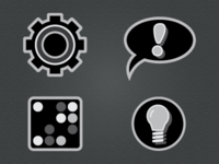 Icons for Instruction Booklet