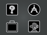 Icons for Instruction Booklet Part 2