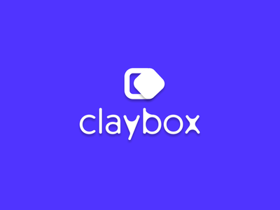 Proudly presenting Claybox purple branding icon vector logo uikit ui animation scene architecture design character 3d art 3d