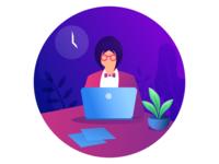 Freelancer Illustration