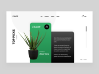 Plant Website Page