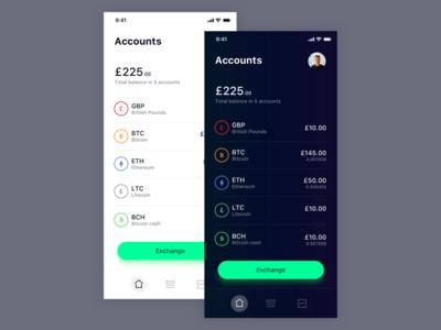 Crypto app WIP