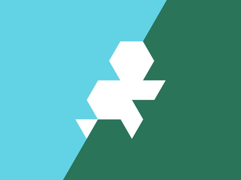 The Netherlands triangular triangle nederland holland grid netherlands minimal map