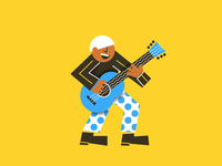 Guitar guitar animation rock music fun