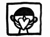 Spread love love covid19 virus air mask