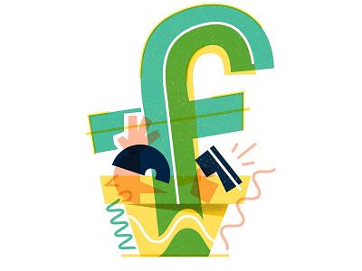 F for #36daysoftype type 36daysoftype-f 36daysoftype letter